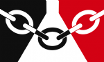 Black Country Flag Belt Buckle